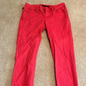Rock and republic red jeans